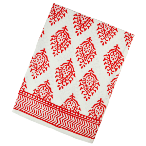 kitchen towel Maria Salmon Red