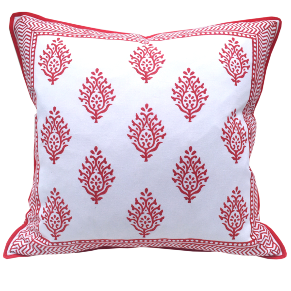 pillow Maria Salmon Red