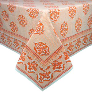 tablecloth James Orange square