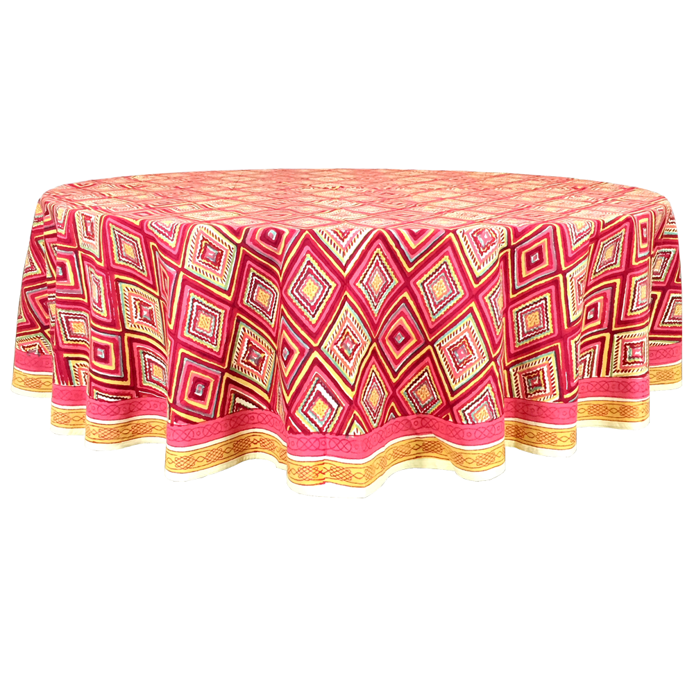 Tablecloth Zig Zag Pacific Amp Rose Textiles