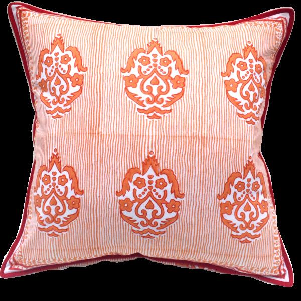 pillow James Orange