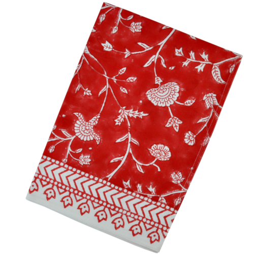 English Red Kitchen Towel
