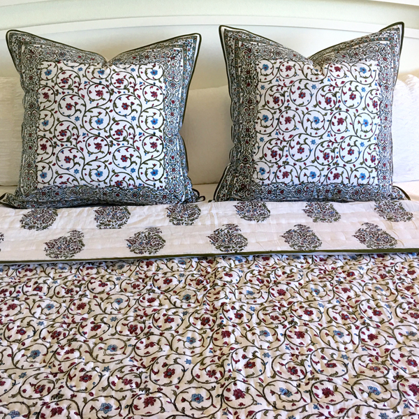 Sara Quilt And Shams Pacific Amp Rose Textiles